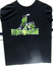 DC Vintage Pre-owned Green Lantern Medium Size Black T-Shirt 100 % Cotton - $9.95
