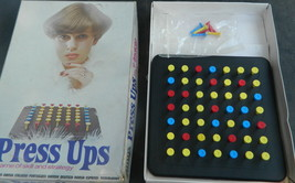 Invicta Press Ups Vintage 1974  Game--Complete Only the Rules on the Box - $12.00