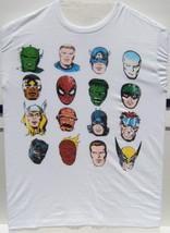 Marvel Classic Heroes Medium Size T-Shirt Brand New 100 % Cotton Preshru... - $29.95