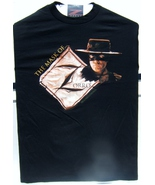 The Mask Of Zorro Movie Brown Tint Zorro Face Large Size T-Shirt Brand N... - $39.95