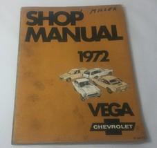 1972 Chevy Vega Shop Manual St-300-72 - $12.38