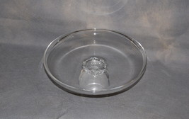 Steuben Glass Shallow Compote Tazza Lloyd Atkins Circa 1957 #8082 Applie... - $175.00