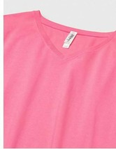 Marky G Women's 2-Pack Combed Ring spun V-Neck T-Shirt, Raspberry Pink, Size XS image 2
