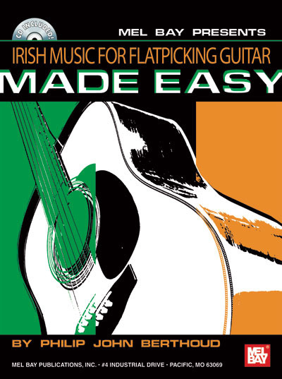 Irish Music For Flatpicking  Guitar Made Easy/Book w/CD