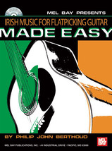 Irish Music For Flatpicking  Guitar Made Easy/Book w/CD - $12.95