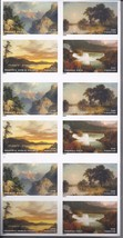 AMERICAN TREASURES Hudson River School 12th in Series  (USPS)  FOREVER STAMPS 20 image 1