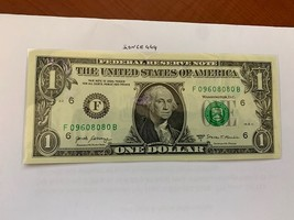 United States Washington $1.00 uncirc. banknote 2017  #2 - $6.50