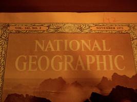 November 1972 National Geographic ~ Vol. 142, No. 5 - $11.00