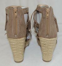 BF Betani Shiloh 8 Stone Fringe Wedge Heel Sandals Size 7 image 5