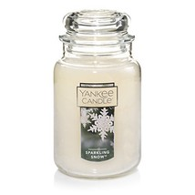Yankee Candle Large Jar Candle, Sparkling Snow - $29.69
