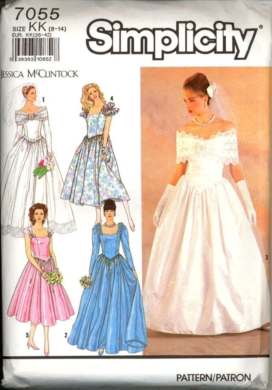 Uncut size 8 10 12 14 jessica mcclintock wedding gown for How to ship a wedding dress usps