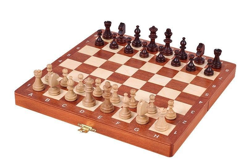 Used, Magnetic Chess Set Inlaid - High quality for sale  USA