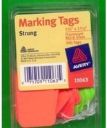 100 String Price Marking Tags - $3.00