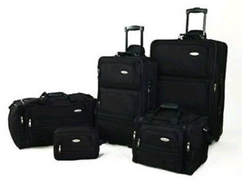 Samsonite 5Pc Luggage Soft Sided Complete Expandable Rolling Travel Set ... - $184.76