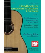Handbook For American Musicians Overseas/Europe... - $22.95