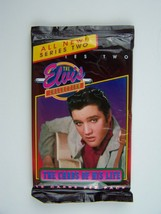Elvis Presley The Cards Of His Life Series Two Cellophane Pack Unopened ... - $5.63
