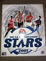 PC THE F.A. PREMIER LEAGUE STARS 2001 EA Games Sport - Soccer / Football... - $25.97