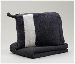 Kashwere Travel Throw Blanket - Dark Grey - $78.00