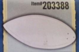 Harbor Breeze Indoor Ceiling Fan 5 Blades Hand Carved Satin White Item #... - $14.20