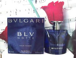 Bvlgari BLV Notte Pour Femme EDP Spray 2.5 FL. OZ. NWB - $249.99