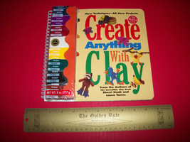Klutz Craft Kit Book Create Anything With Clay Art Sculpture Supply Activity Set - $18.99