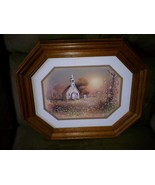 Homco Church Picture Home Interiors Religious W... - $19.97