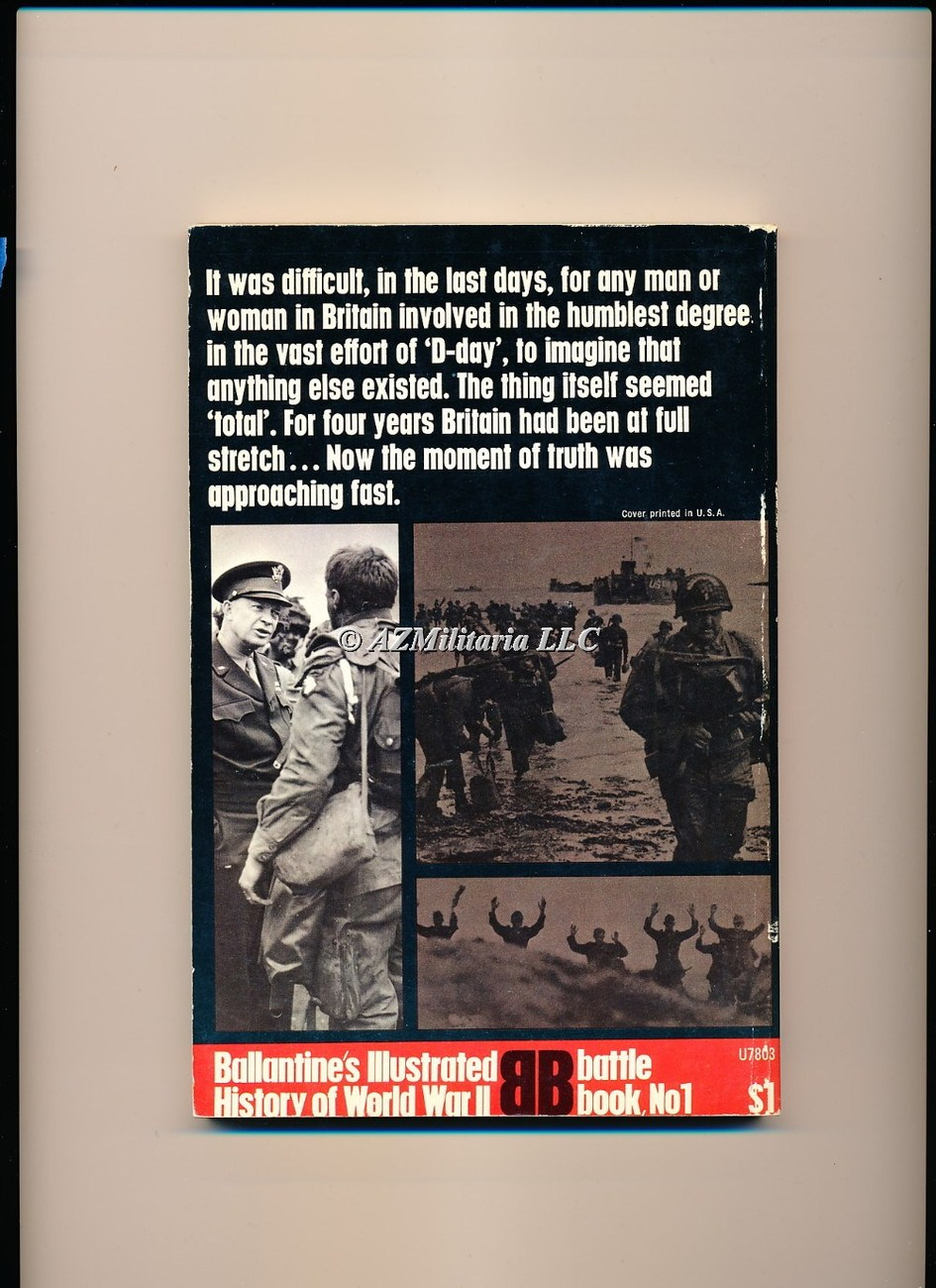 D-Day Spearhead of Invasion (Battle Book No 1)
