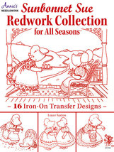 Sunbonnet Sue Redwork Collection embroidery Annie's Publications - $13.50