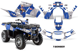 Polaris Sportsman 850 AMR Racing Graphic Kit Wrap Quad Decal ATV 11-13 T... - $267.25