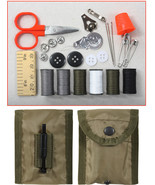 Emergency Sewing Repair Kit Case Small Pouch Belt Clip Travel Compact Mi... - $8.99