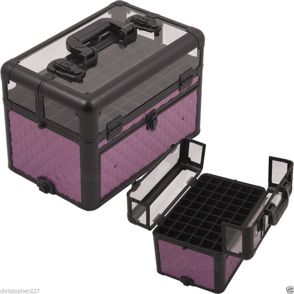 OPI Nail Polish Manicure Cosmetics Makeup Organizers Storage Beauty Case Travel image 4