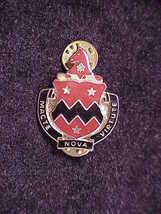 U.S. Army 3rd Battalion, 16th Field Artillery Pin, motto Macte Nova Virtute - $5.50