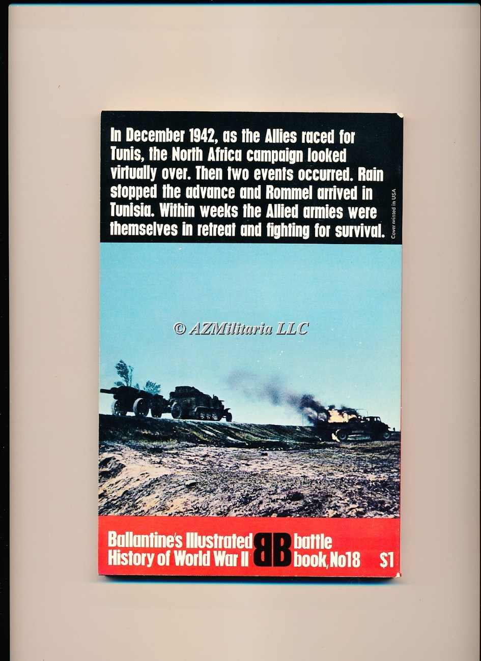 Kasserine: Baptism Of Fire (Battle Book No 18)