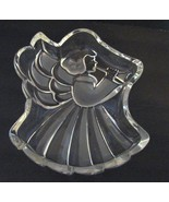 MIKASA Trumpeting Angel Glass Holiday Candy  Dish - $6.49