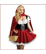 """Hey There Little RED RIDING HOOD"" Costume Includes Removable Hooded Cap... - $63.95"