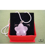 Rose quartz 925 silver necklace - $14.99