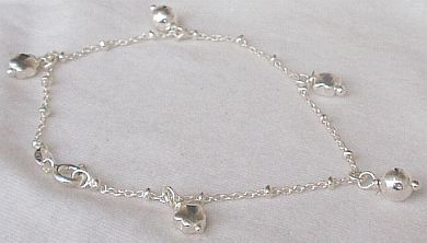 Stars silver bracelet