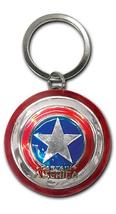 Avengers Movie Captain America Shield Key Chain Brand NEW! - $8.99
