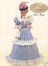 Miss May 1994 Gibson Girl Outfit fits Barbie Doll Crochet Pattern Booklet - $2.67