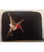 Hummingbird Leather Wallet Credit Card / ID Holder Humming Birds - $19.00