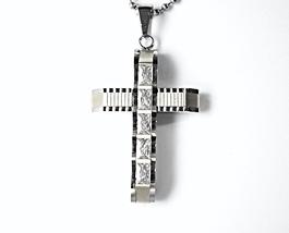 8045355 qc57 5 stone cross pendant thumb200