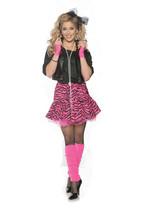 Underwraps Rockin Der 80s Madonna Rock Erwachsene Damen Halloween Kostüm... - $32.52