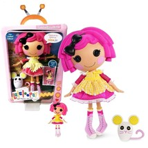 """NEW Lalaloopsy Limited Edition 12"""" Button Doll Crumbs Sugar Cookie Mouse +BONUS - $82.99"""
