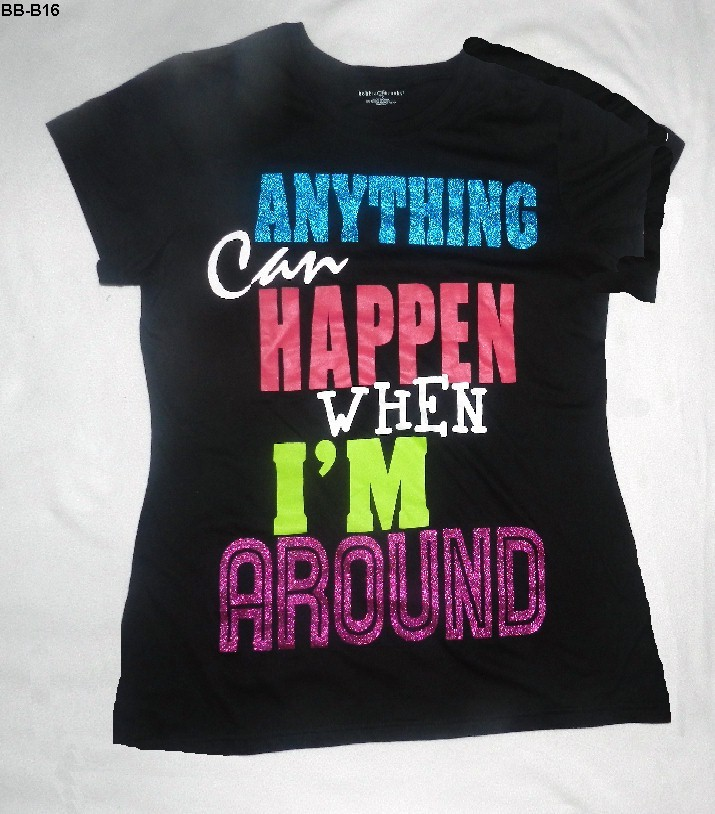 Bb b16 bb anything can happen tee