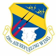 USAF 128th Air Refueling Wing 12'' Sticker Military  - $24.74
