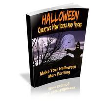Halloween - Creative New Ideas and Tricks Ebook... - $3.00