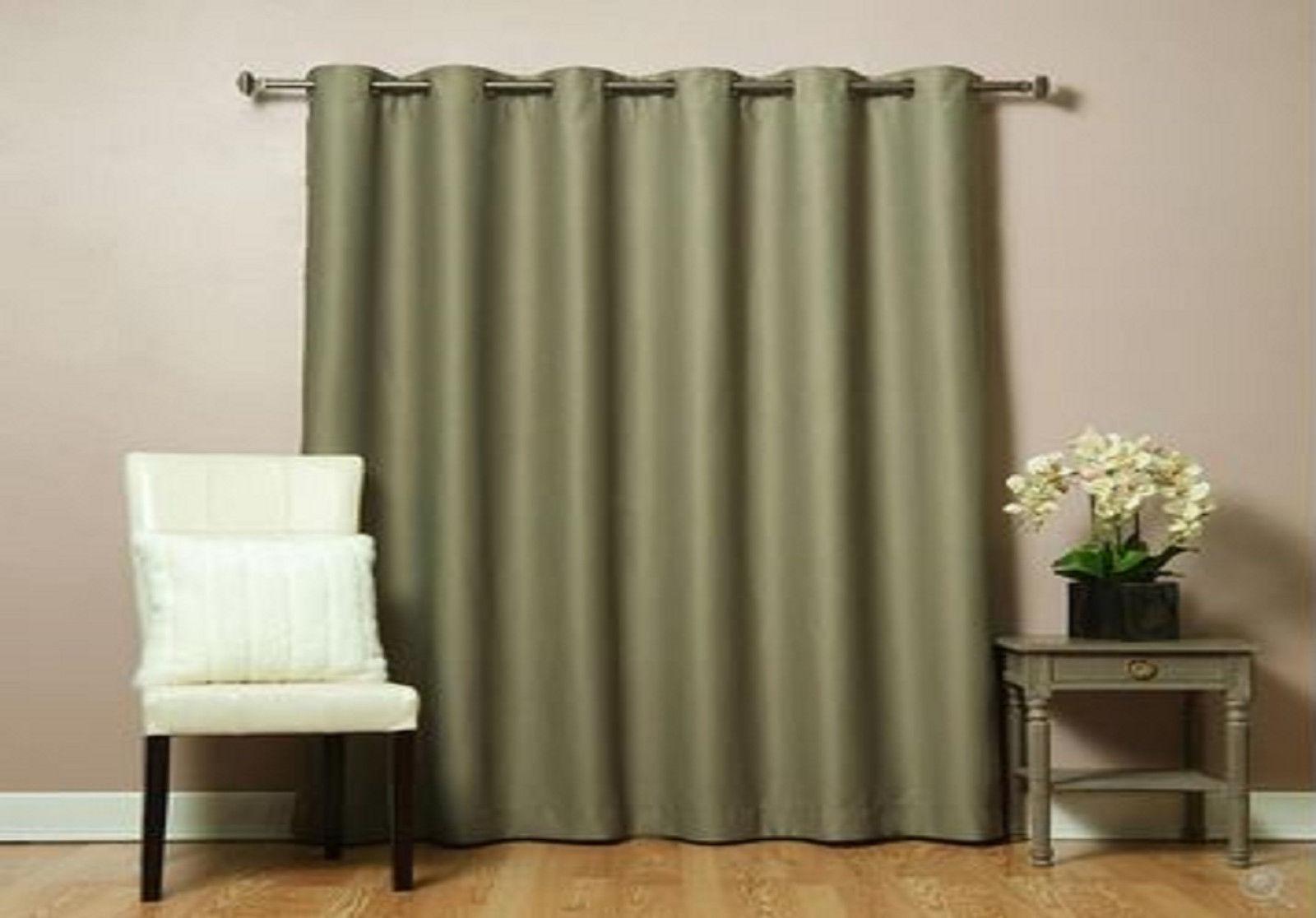 Wide Width Patio Bedroom Livingroom Grommet Window Treatment Curtains Drapes Curtains Drapes