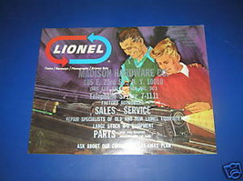 1966 LIONEL CATALOG-MADISON HARDWARE STAMP - $6.99