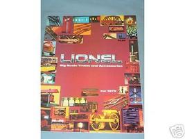 1978  LIONEL  CATALOG- NEW - $4.00