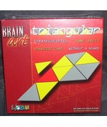 BRAIN ART Triangular Strategy Puzzle Game NIB 2004 - $19.96